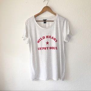 Torrid Graphic T Shirt Gypsy Soul Boho 2 Retro 2X